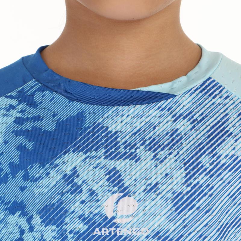 860 Dry Kids' Badminton T-Shirt - Light Blue