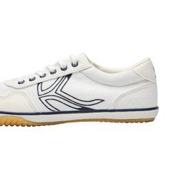 BS700 女性羽毛球運動鞋 - 藍色/白色