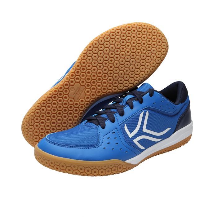 Chaussures de BADMINTON Artengo BS730 Man Bleu Blanc - 1251615