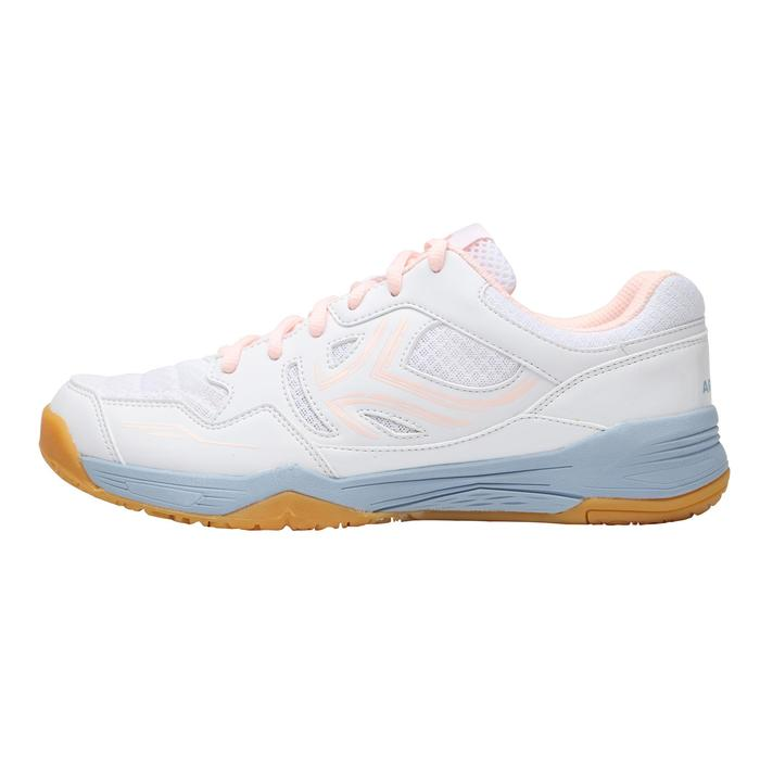 Badmintonschoenen voor dames Artengo BS760 grijs roze
