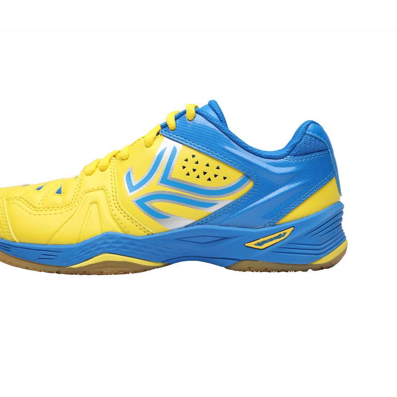 Kids' Badminton Shoes BS800 JR - Yellow/Blue