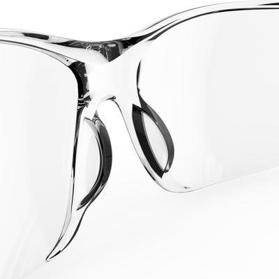 نظارة شمسية لركوب الدراجات 100 من الفئة 0 - لون شفاف.