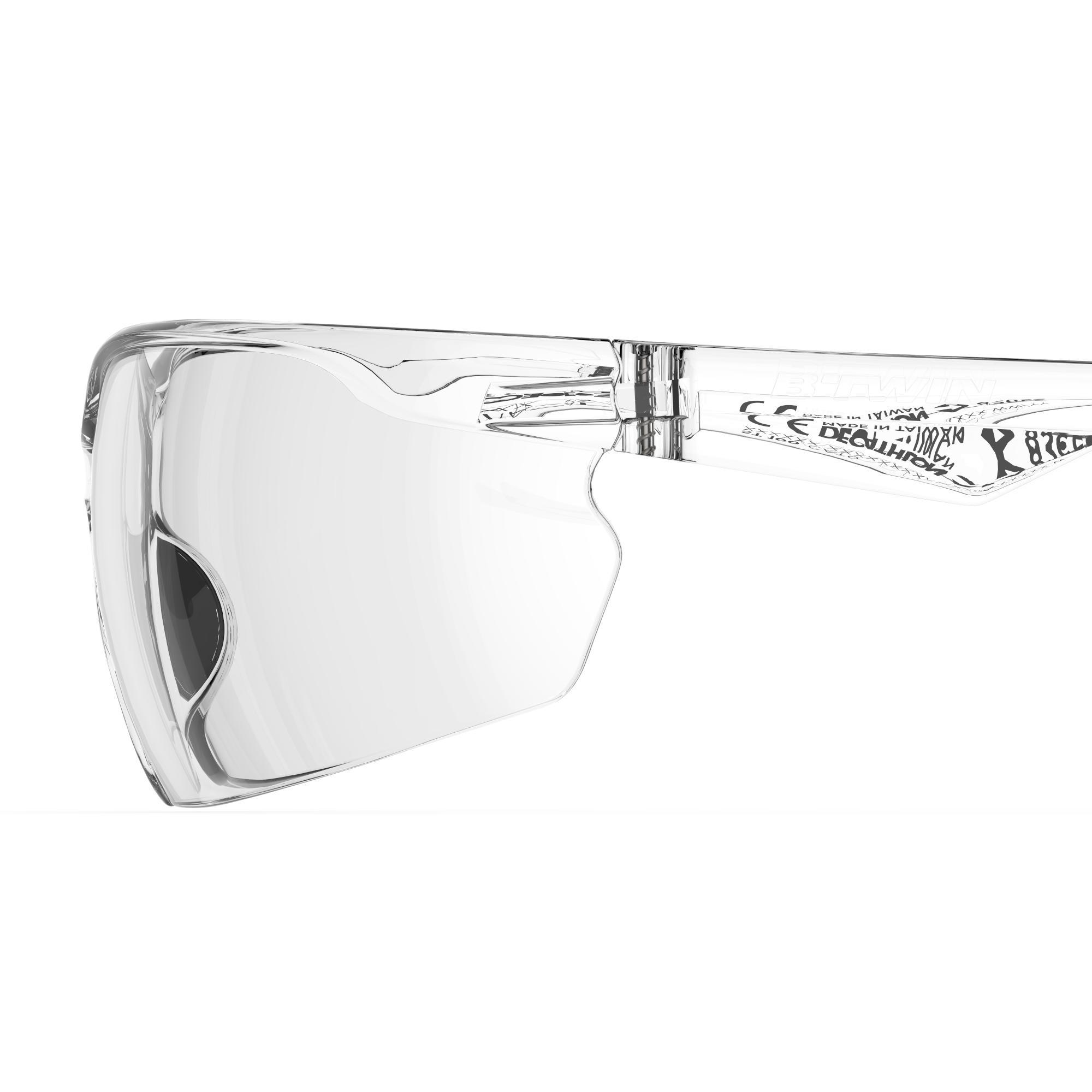 Lunettes de VTT adulte ST 100 transparentes catégorie 0