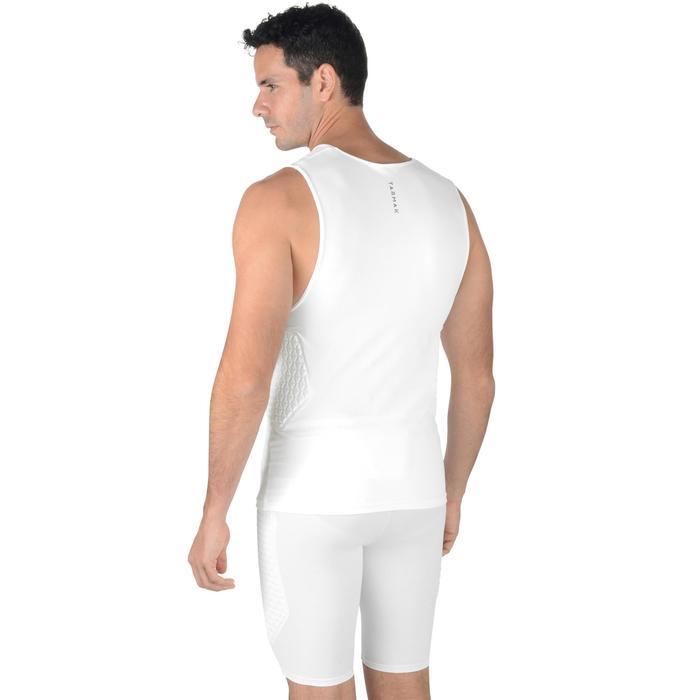 Funktionsshirt Protection Unterziehshirt Basketball Herren weiß