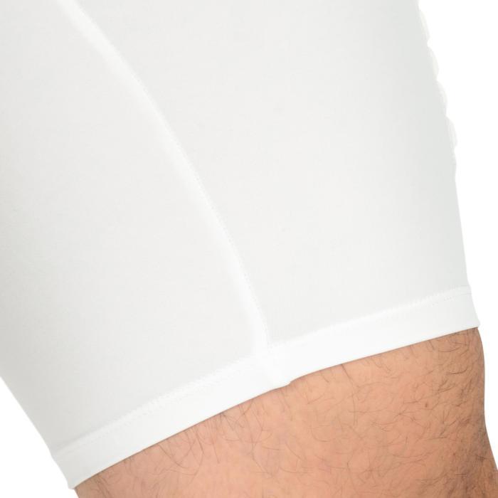 Beschermende basketbal ondershort voor heren, gevorderden, Tarmak wit