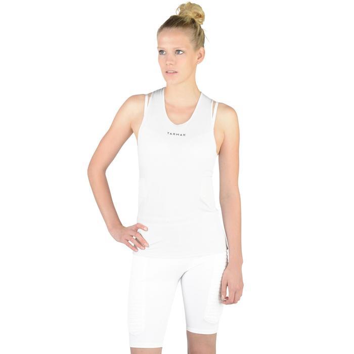Funktionsshirt Protect Basketball Damen Fortgeschrittene weiß