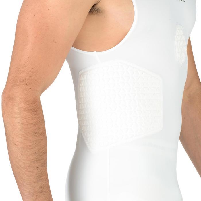 Beschermend ondershirt voor heren wit