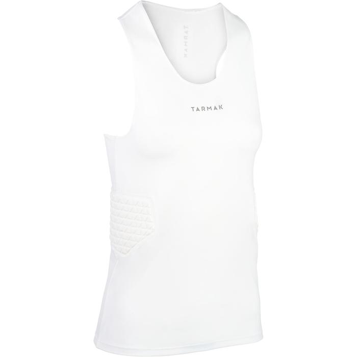 Ondershirt voor basketbal dames voor gevorderde speelsters wit