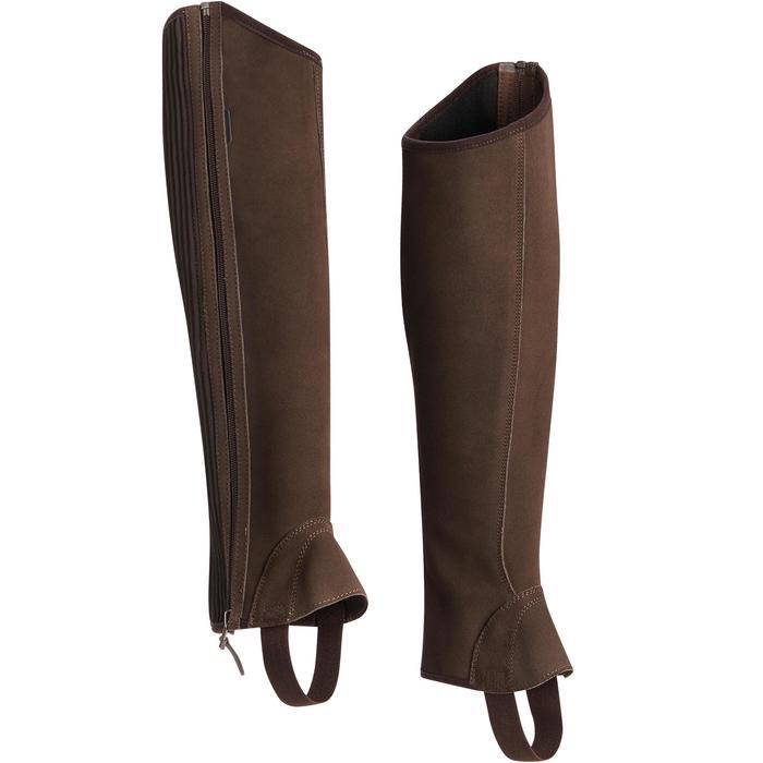 Polainas equitación adulto FUELLE SENTIER marrón