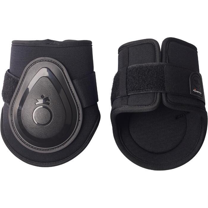 2 protège-boulets équitation poney et cheval FT BTS SOFT noir - 1251773