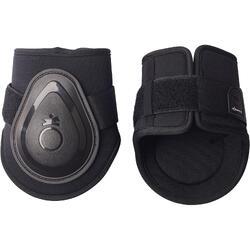 2 protège-boulets équitation poney et cheval FT BTS SOFT noir