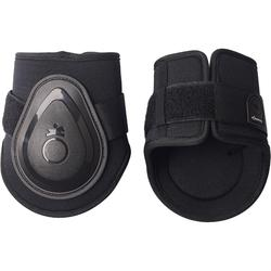 FT BTS Soft Pony and Horse Fetlock Boots Twin-Pack - Black