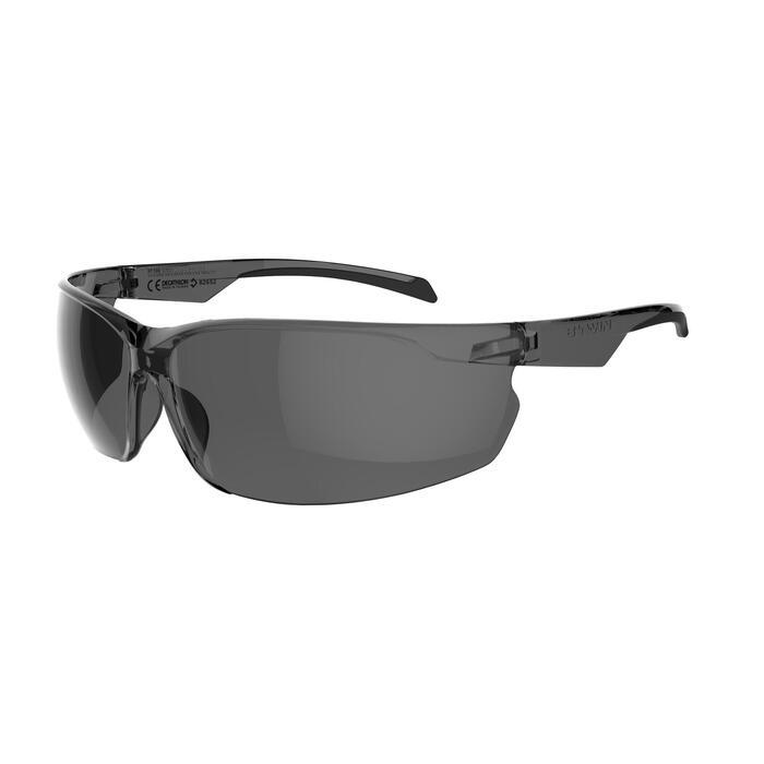 Fietsbril voor volwassenen ST 100 grijs categorie 3