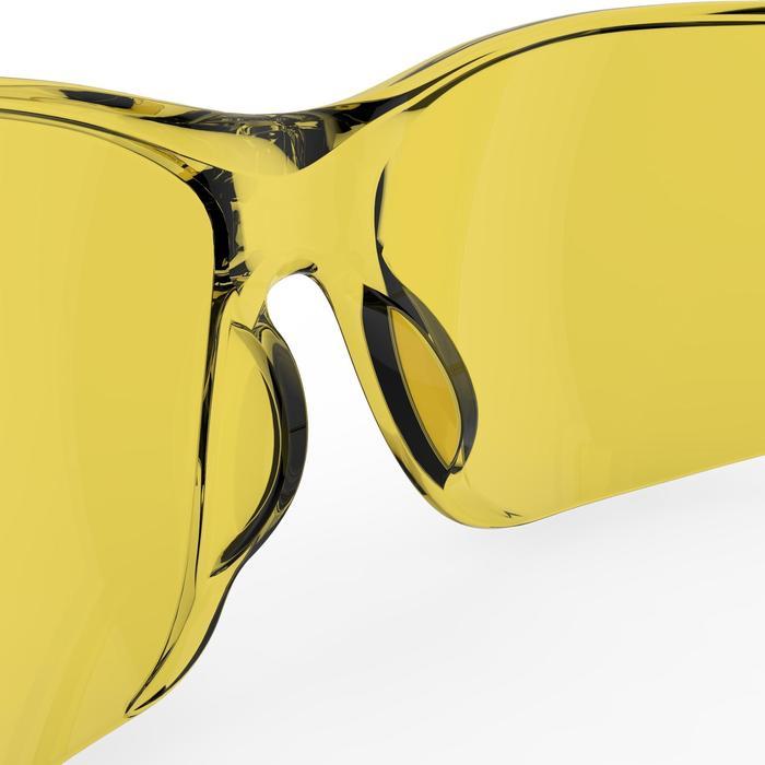 Fietsbril voor volwassenen ST 100 geel categorie 1