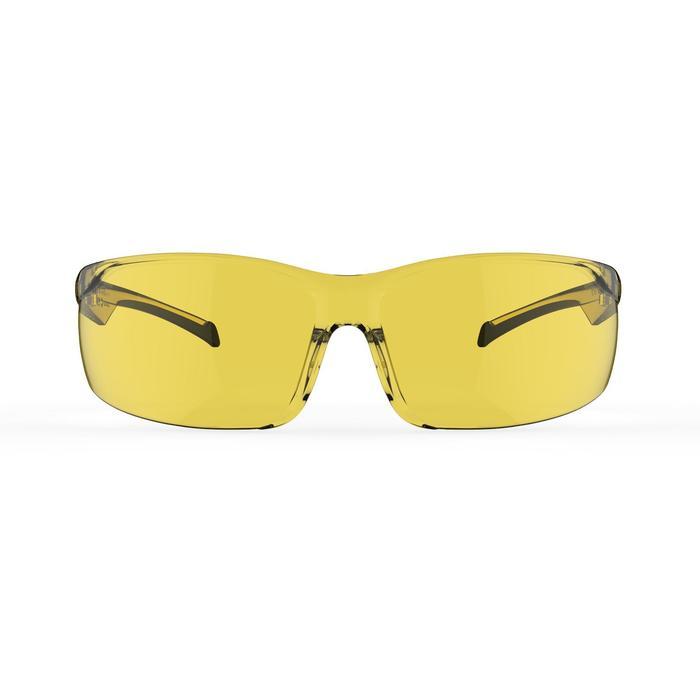 Lunettes de VTT adulte ST 100 jaunes catégorie 1