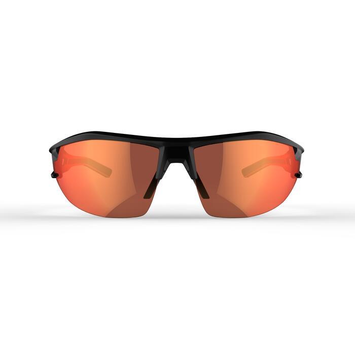 Fietsbril voor volwassenen XC 100 zwart en rood pack 4 verwisselbare glazen - 1251822