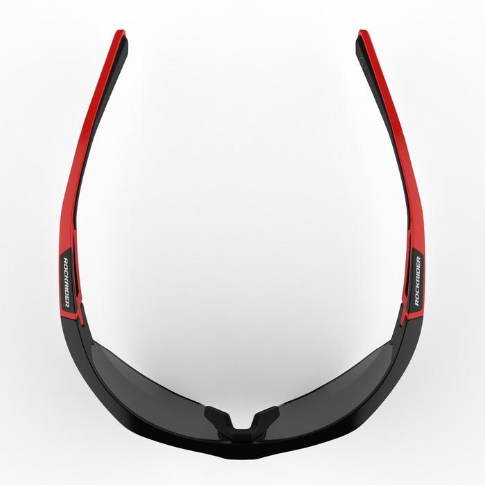 Lunettes de VTT adulte XC 100 noires et rouges pack de 4 verres interchangeables - 1251831