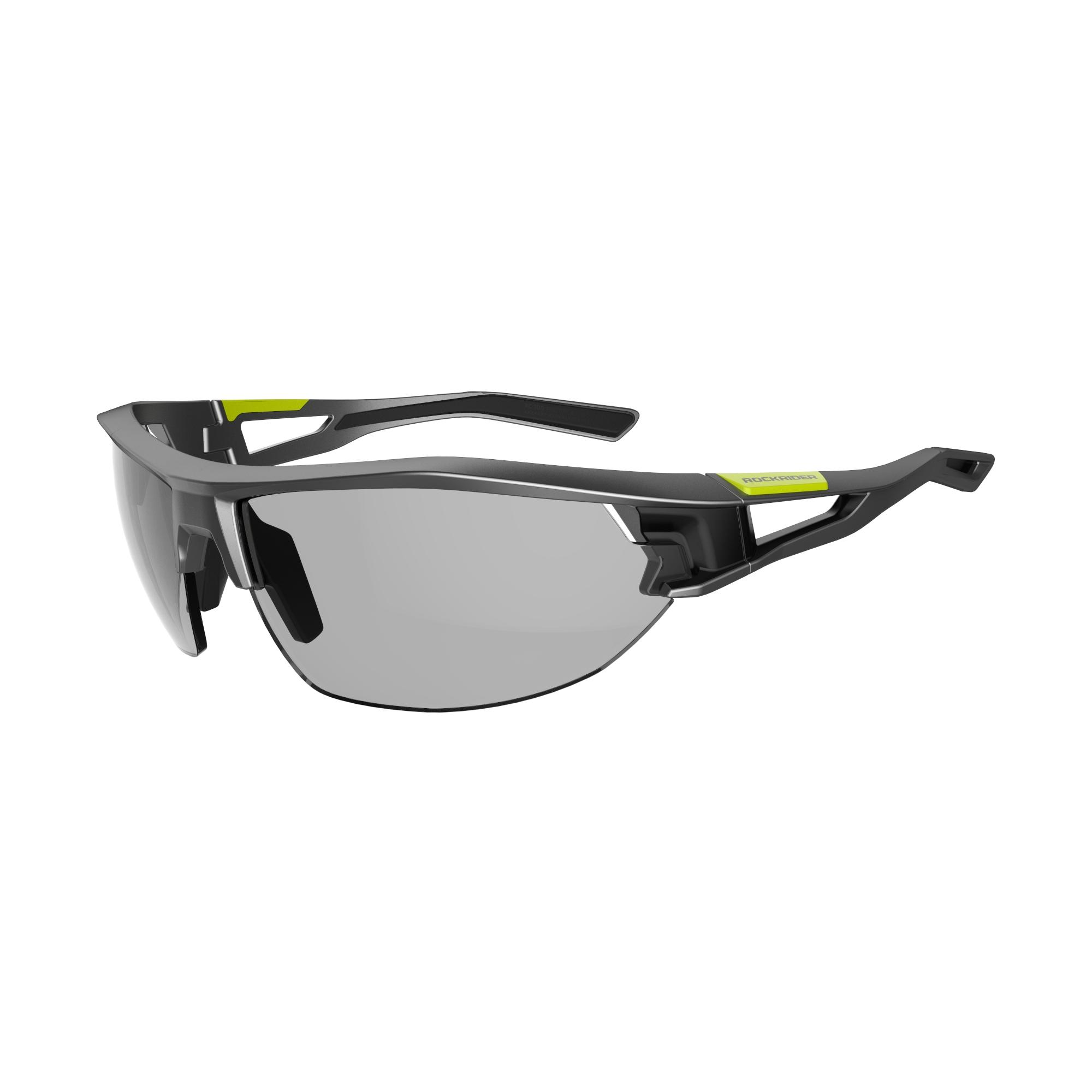 Orao Fietsbril volwassenen XC 120 fotochromisch grijs en zwart categorie 1 tot 3