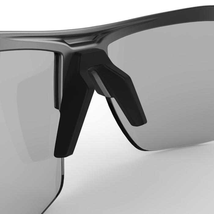 Fietsbril volwassenen XC 120 fotochromisch grijs en rood categorie 1 tot 3 - 1251840
