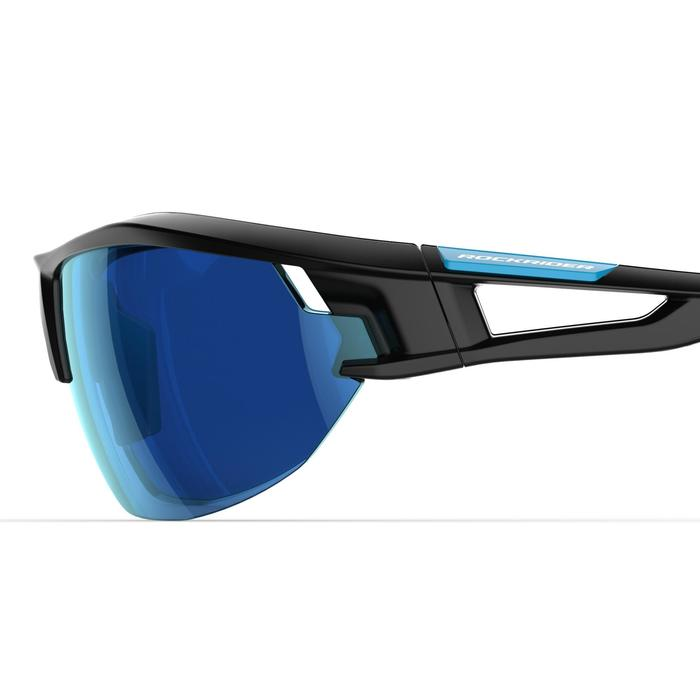 XC 100 Blue Pack Adult Cycling Sunglasses - 4 Interchangeable Lenses - Blue - 1251842