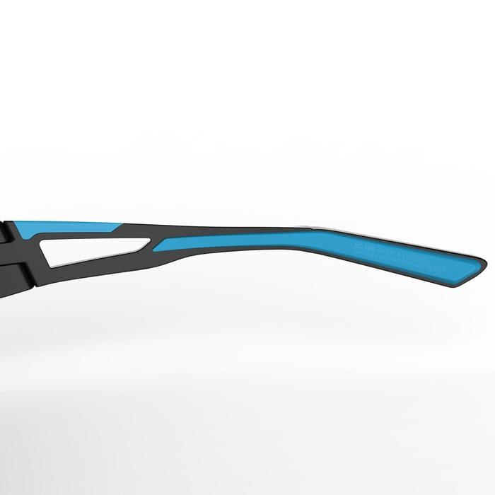 XC 100 Blue Pack Adults' Cycling Sunglasses - 4 interchangeable lenses - Blue