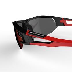 Gafas de BTT adulto XC 100 negro y rojo pack de 4 cristales intercambiables