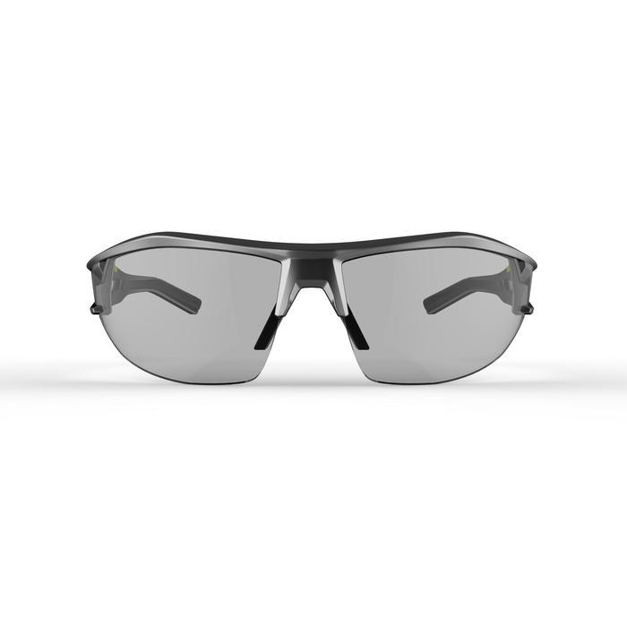 Fietsbril volwassenen XC 120 fotochromisch grijs en zwart categorie 1 tot 3