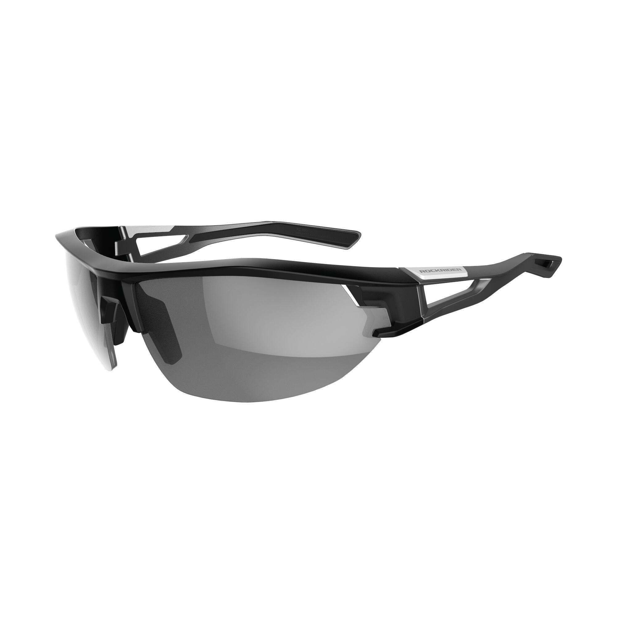 0c535fc39a Gafas de Sol Ciclismo MTB XC 100 gris categoría 3 Rockrider | Decathlon