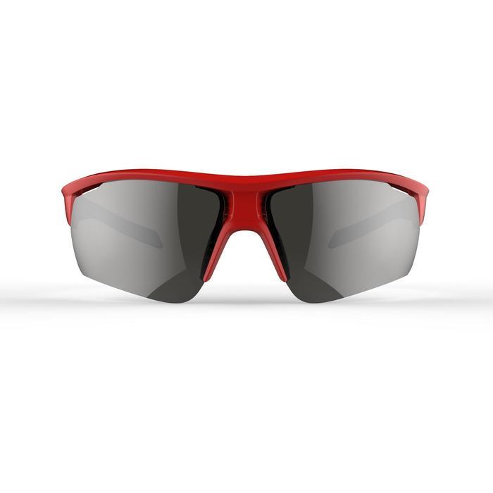 Fietsbril volwassenen Roadr 500 categorie 3 rood en marineblauw - 1251894