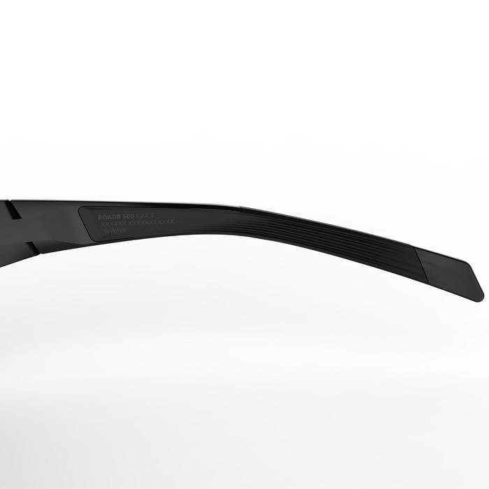 Fietsbril volwassenen Roadr 500 categorie 3 zwart - 1251898