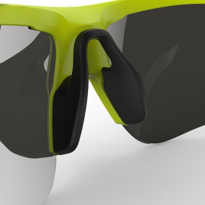 Gafas de ciclismo adulto ROADR 500 categoría 3 amarillo/verde fluorescente
