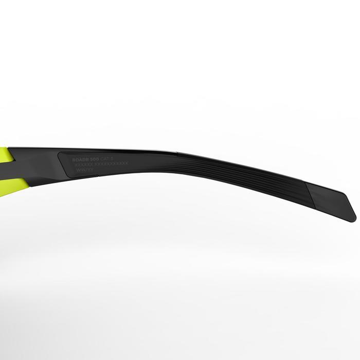 Gafas de Sol ciclismo adulto ROADR 500 categoría 3 amarillo/verde fluorescente
