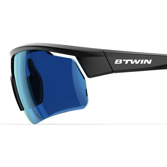be4549dded Gafas de Sol ciclismo adulto ROADR 500 categoría 3 negro Van rysel ...