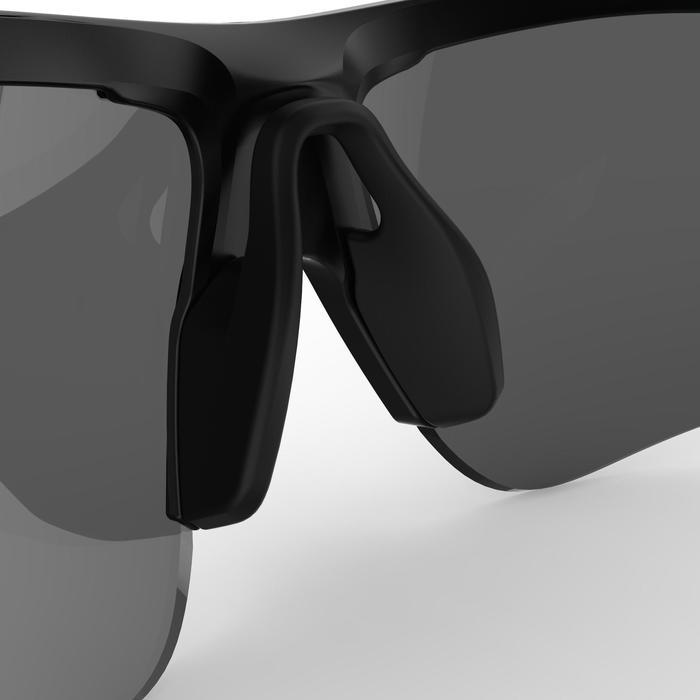 Fahrradbrille Roadr 500 Erwachsene Kat. 3 schwarz