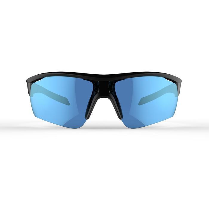 Fietsbril volwassenen Roadr 500 categorie 3 zwart - 1251938