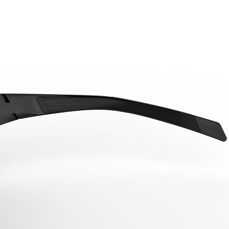 แว่นกันแดดใส่ปั่นจักรยานสำหรับผู้ใหญ่ประเภท 3 รุ่น Roadr 500 (สีดำ/ฟ้า)