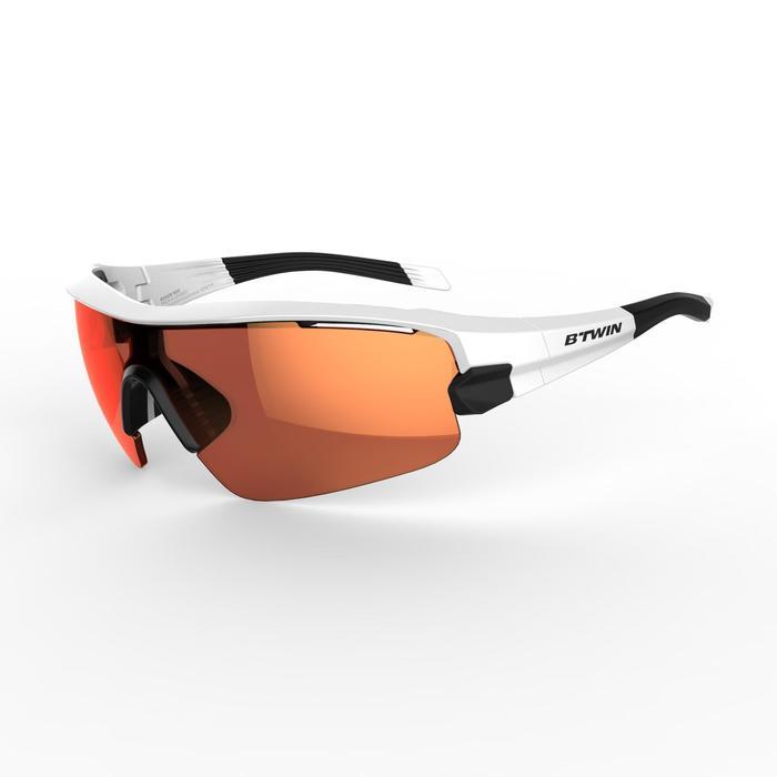 Fietsbril volwassenen Roadr 900 Grey Pack grijs – 4 verwisselbare glazen - 1251951