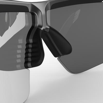 Cycling 900 Greyنظارات شمسية لركوب الدراجات 4عدسات قابلة للتبديل-رمادى