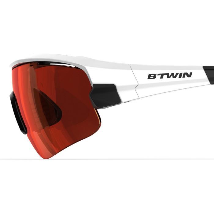 Fietsbril volwassenen Roadr 900 Grey Pack grijs – 4 verwisselbare glazen - 1251959