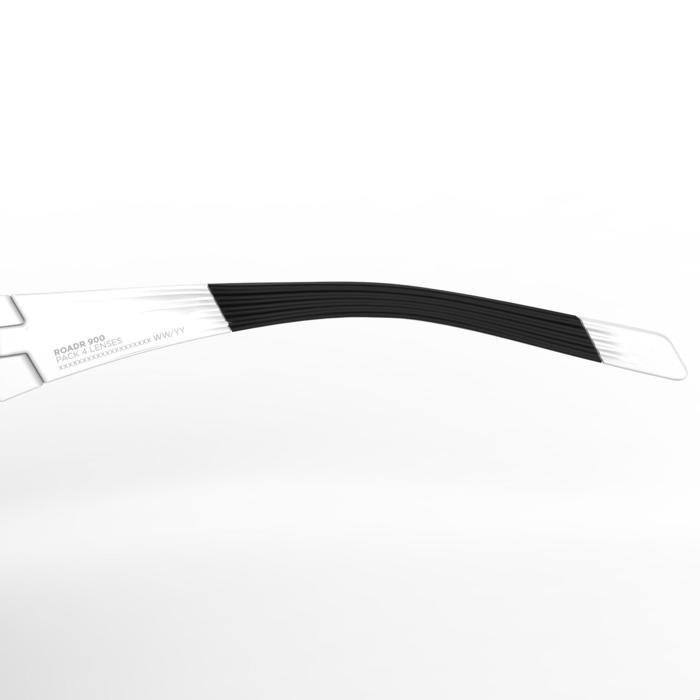 Fietsbril volwassenen Roadr 900 rood Pack zwart – 4 verwisselbare glazen