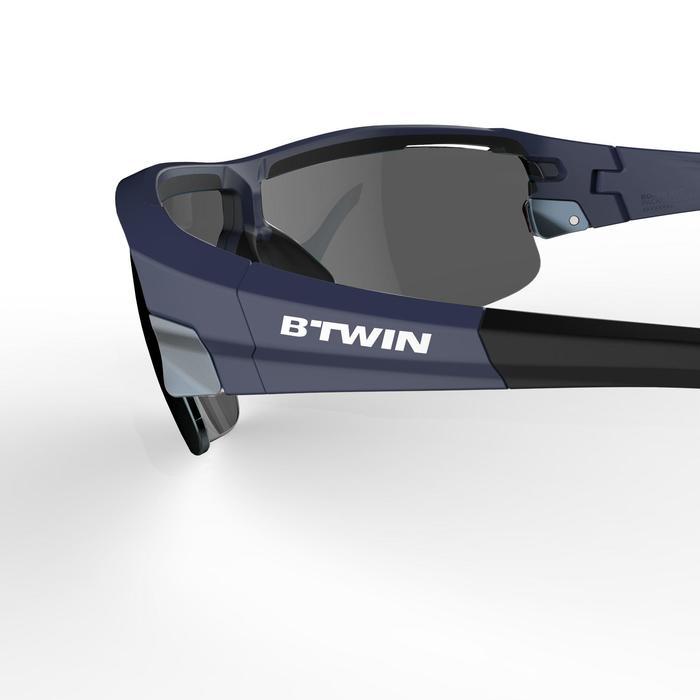 Fietsbril volwassenen Roadr 900 Navy Pack zwart – 4 verwisselbare glazen - 1251974