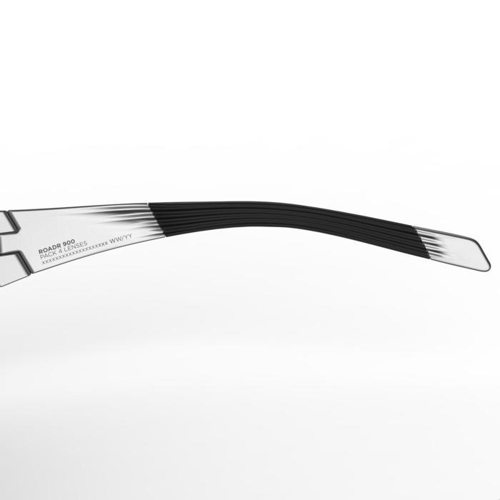 Lunettes de vélo adulte ROADR 900 GREY PACK grises - 4 verres interchangeables - 1251979