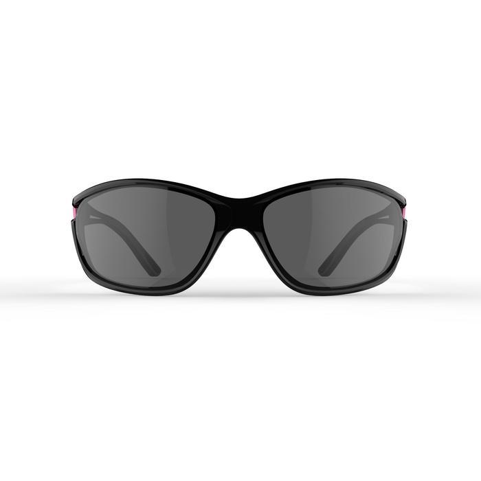 RUNSTYLE ADULT CATEGORY 3 RUNNING GLASSES - BLACK/PURPLE