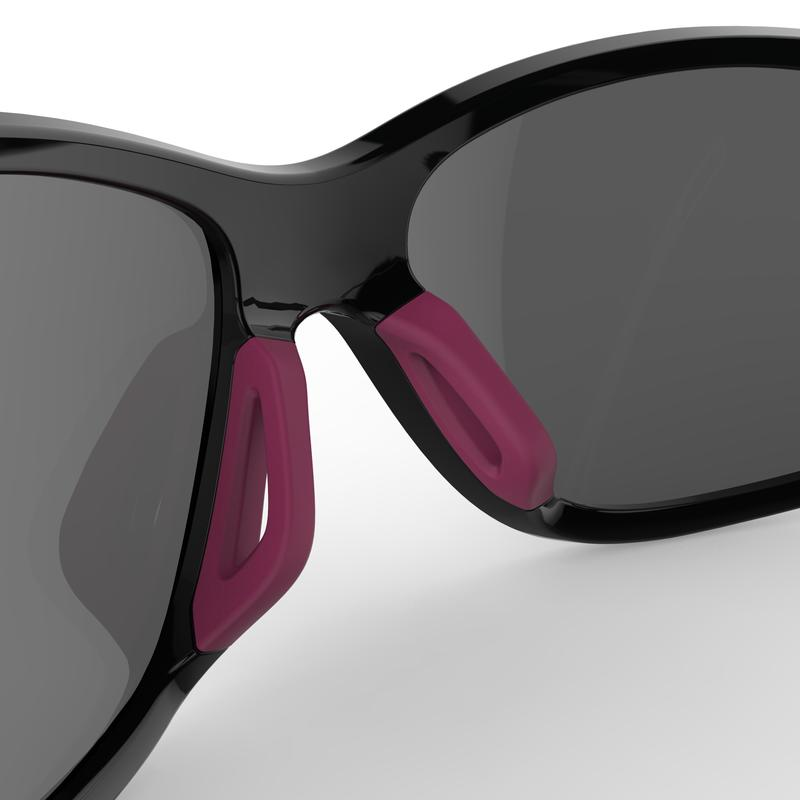 RUNSTYLE ADULT CATEGORY 3 RUNNING GLASSES - GREY/PURPLE