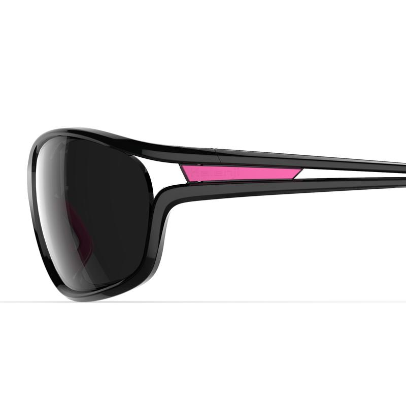 JOG 500 adult running glasses category 3 grey pink