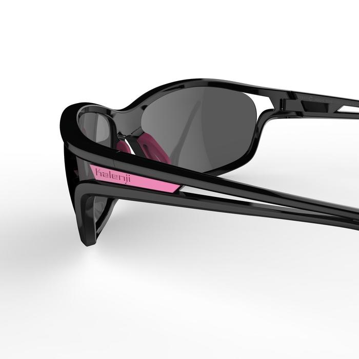 Lunettes de running adulte JSG 500 gris rose catégorie 3