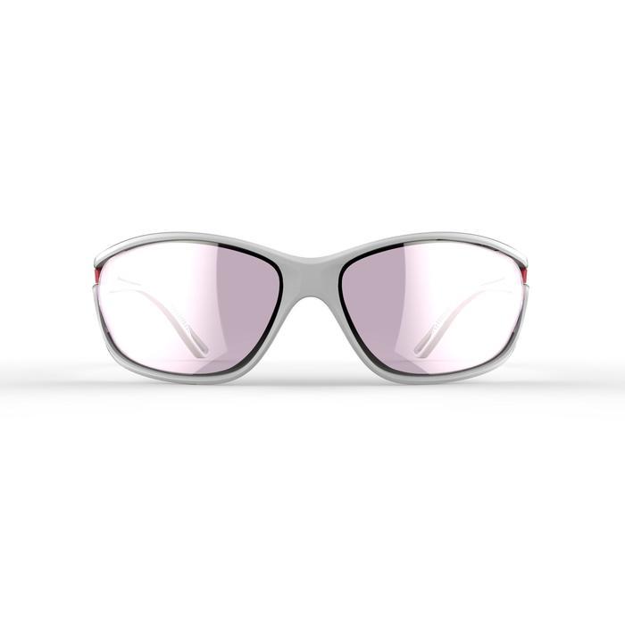Lunettes de running adulte JOG 500  gris rose catégorie 3 - 1252051
