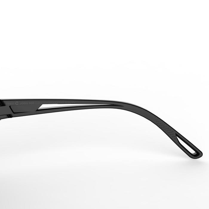 Hardloop zonnebril Runstyle categorie 3 grijs/paars
