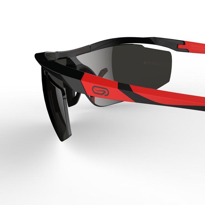 Lunettes de running adulte RUN 500 noir rouge catégorie 3 - 1252074