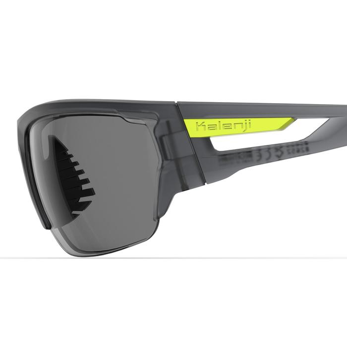 Gafas Running Adulto TRAIL 560 Gris/Amarillo fluo Fotocromáticas Cat. 1-3